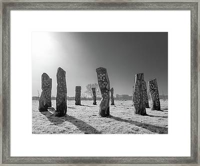 The Birth Gathering Framed Print by Wim Lanclus