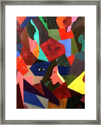 The Birth Framed Print by Guillermo Mason