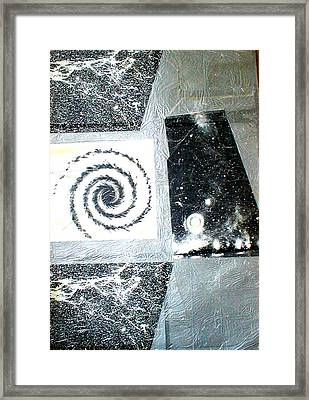 The Birth Of A Star Framed Print by Marja Koskinen-Talavera