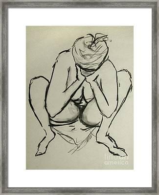 The Birth Of Art Framed Print by Peter Piatt
