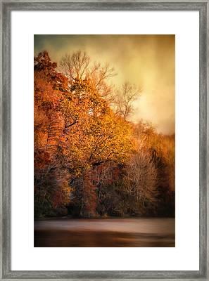 The Birth Of Autumn Framed Print by Jai Johnson