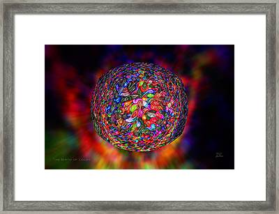 The Birth Of Color Framed Print