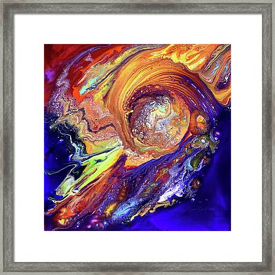 The Birth Of Something Wonderful Framed Print by Susan Card
