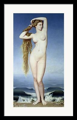 Goddess Of Beauty Framed Prints