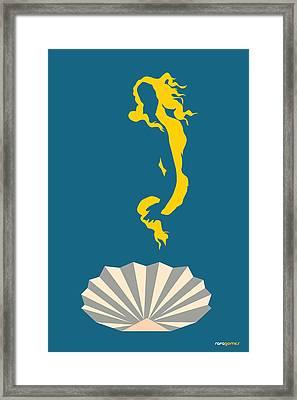 The Birth Of Venus Framed Print by Rafael Gomes