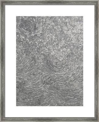 The Birth On The Time At The Ocean Of The Lost Sense Framed Print by Uwe Schein