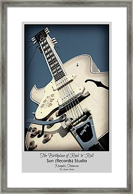 The Birthplace Of Rock N Roll Framed Print by Stephen Stookey