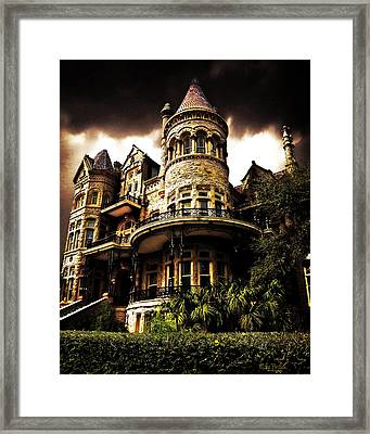 The Bishop's Palace Framed Print