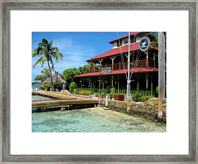 The Bitter End Yacht Club Framed Print by Adam Romanowicz