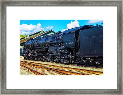 The Black A.t.s.f. Framed Print by Garry Gay