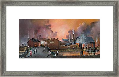 The Black Country Village Framed Print