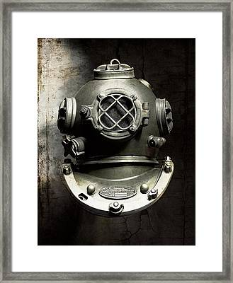 The Black Deep Framed Print