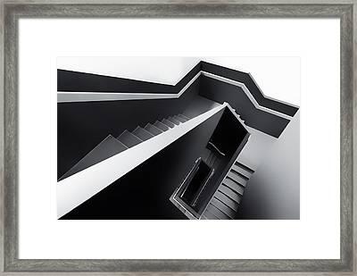 The Black Hole Framed Print by Gerard Jonkman