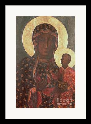 Icon Byzantine Framed Prints