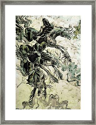 The Black Riders Descend Framed Print