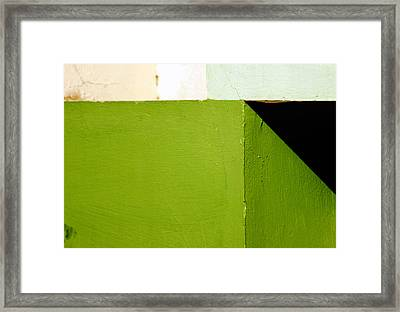 The Black Triangle Framed Print
