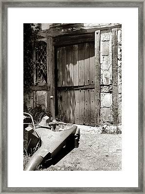 The Blacksmith's Door Framed Print