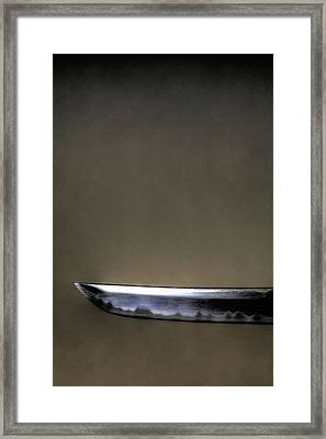 The Blade Framed Print by Hans Zimmer