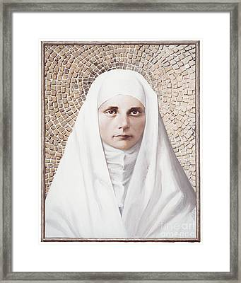 The Blessed Virgin Mary - Lgbvm Framed Print