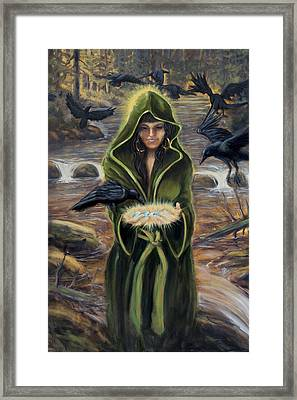 The Blessing Framed Print by Kurt Jacobson