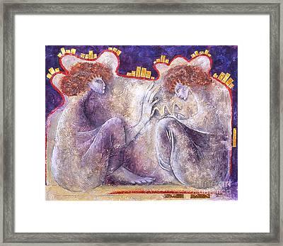 The Blessing Framed Print by Marne Adler