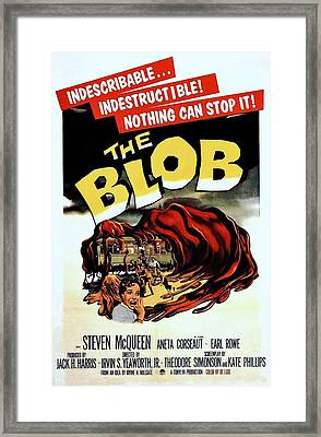 The Blob  Framed Print