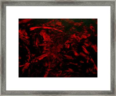 The Blood Framed Print by Guillermo Mason