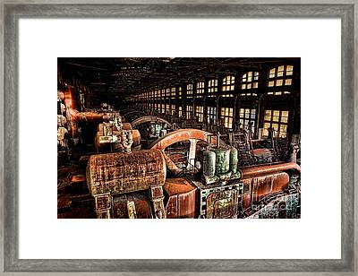 The Blower House Framed Print