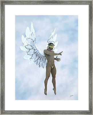 The Blue Angel Framed Print