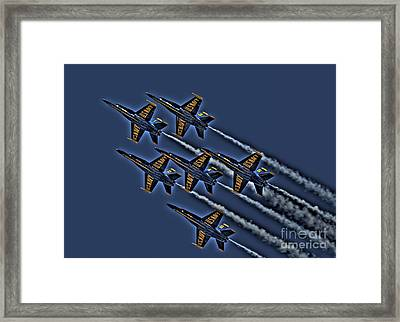 The Blue Angels Framed Print by Corky Willis Atlanta Photography