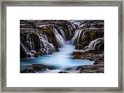 The Blue Beauty Framed Print by Sus Bogaerts