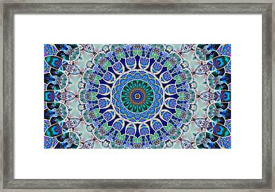 The Blue Collective 02a Framed Print