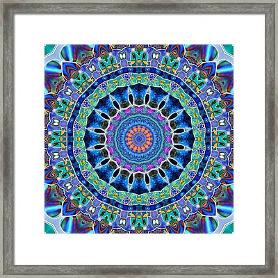 The Blue Collective 03c Framed Print