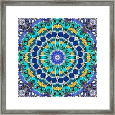 The Blue Collective 04c Framed Print