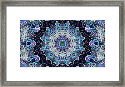 The Blue Collective 05a Framed Print