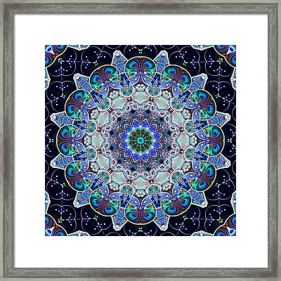 The Blue Collective 05c Framed Print
