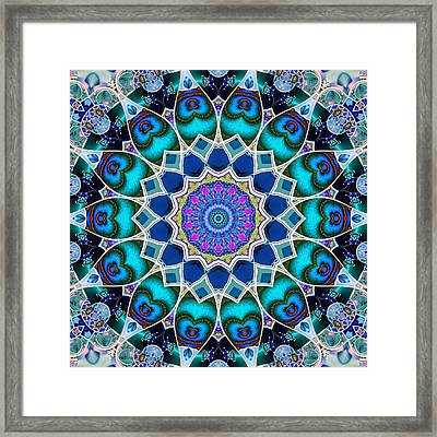The Blue Collective 07 Framed Print