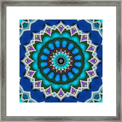 The Blue Collective 10 Framed Print