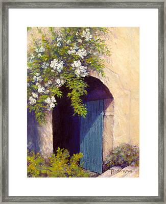 The Blue Door Framed Print by Tanja Ware