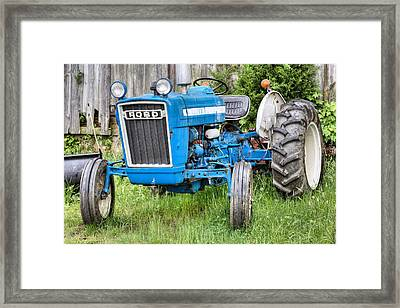 The Blue Ford Framed Print