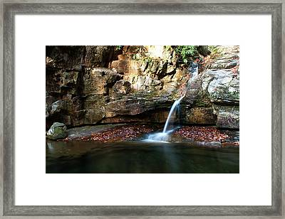 The Blue Hole In November #2 Framed Print by Jeff Severson