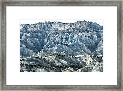 The Blue Framed Print by Joseph Smith