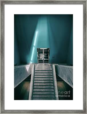 The Blue Room.. Framed Print by Nina Stavlund