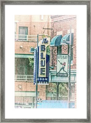 The Blue Room Framed Print by Pamela Williams