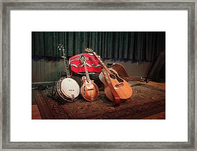 The Bluegrass Band Framed Print by Wes Green