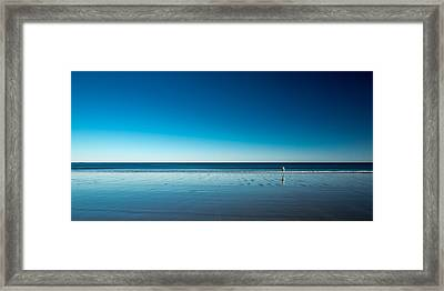 The Blues Framed Print by Harmeet Marwaha