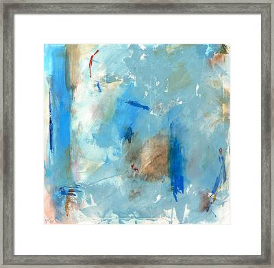 The Blues Framed Print by Jacquie Gouveia