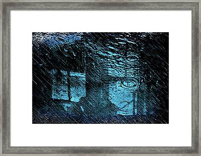The Blues Framed Print