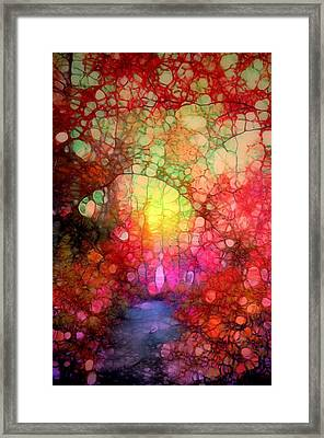 The Blurry Memories Of Autumn Framed Print