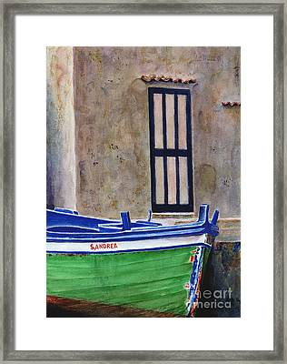 The Boat Framed Print